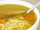 Суп на курином бульоне с добавлением вермишели