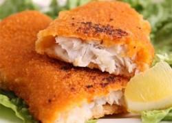 Готовая рыба жаренная в кляре