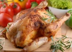 Курица приготовленная в духовке целиком
