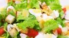 Вкусный классический салат цезарь