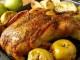 Готовая утка запеченная в духовке с яблоками и картошкой
